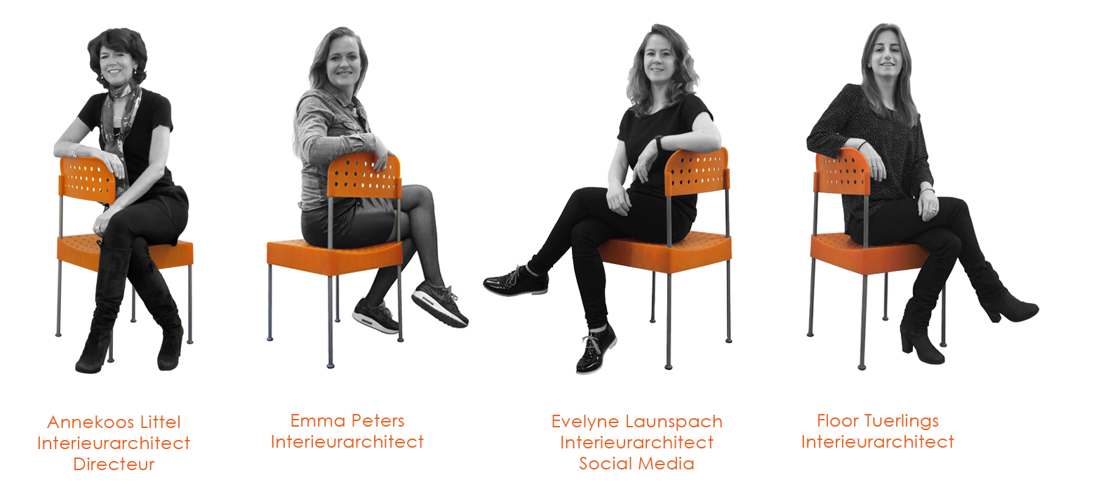Team foto | Annekoos Littel Interieurarchitecten