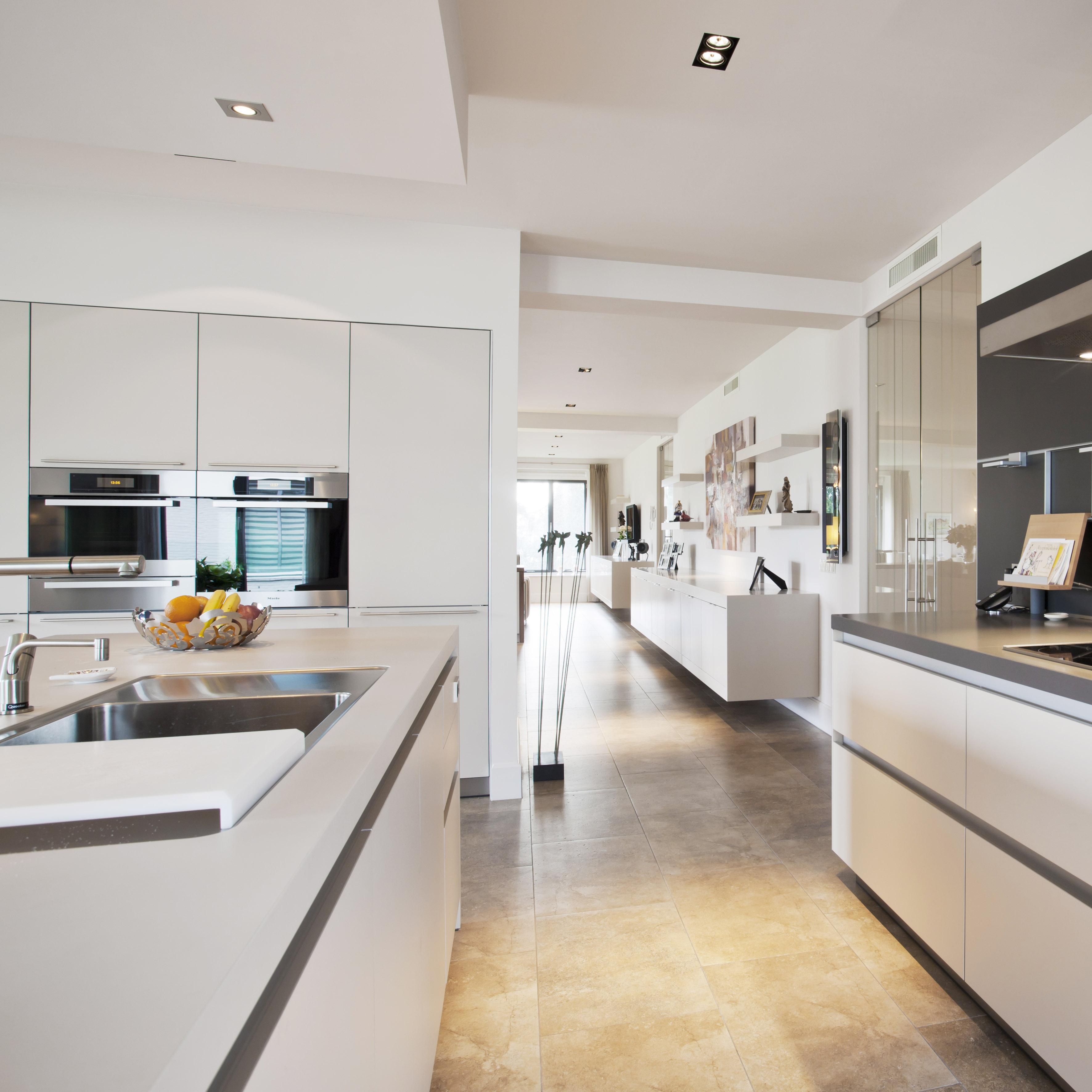 Dubbel penthouse annekoos littel interieurarchitecten - Dachwohnung interieur penthouse ...