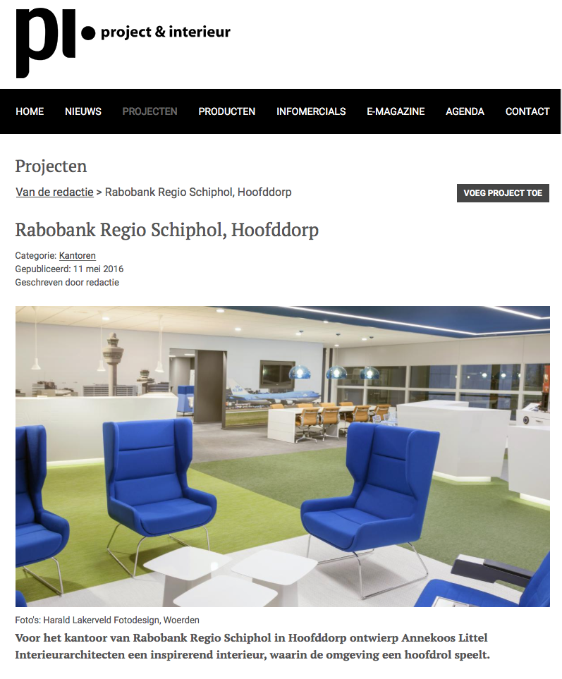 PI Rabobank Regio Schiphol