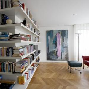 Maatwerk boekenkast - Annekoos Littel Interieurarchitecten bni